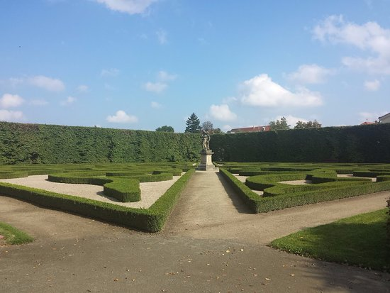 Moravia, สาธารณรัฐเช็ก: Květná zahrada
