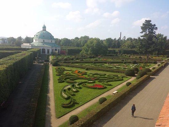 Moravie, République tchèque : Květná zahrada