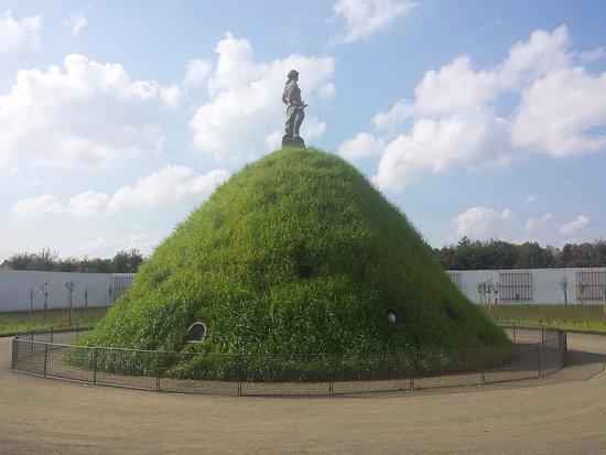 Moravie, République tchèque : Květná zahrada - králičí kopec