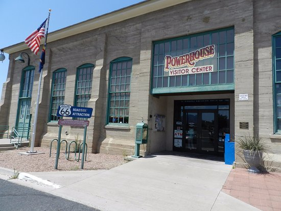 Kingman, AZ : Main Entrance to US Route 66 Museum