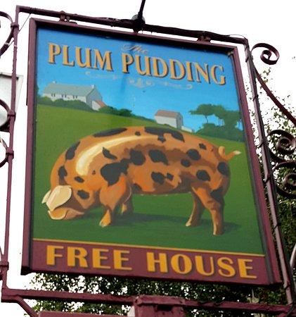 Milton, UK: Plum Pudding Free House