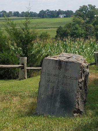 Fredericksburg, Virginie : Headstone