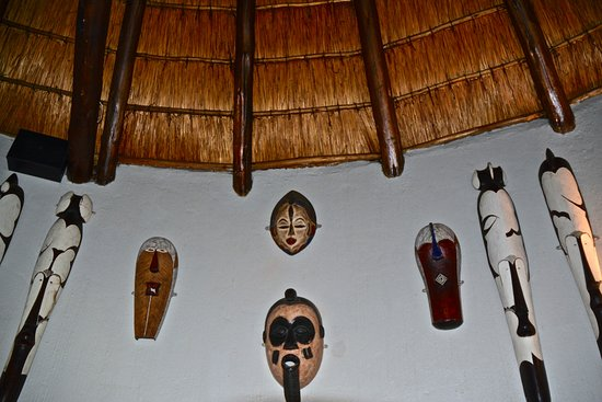 Zulu Nyala Country Manor: Éléments de décoration