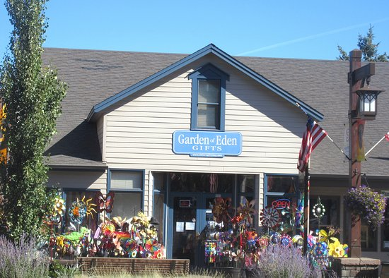 Sisters, Oregon: Garden of Eden Gift Store, City of Sisters, Sisters, Oregon