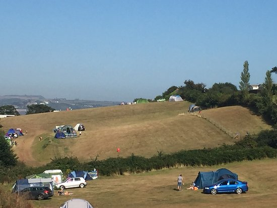 Golden Sands Holiday Park - Park Holidays UK: Beautiful sight from the camping field