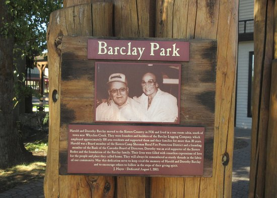 Barclay Park, City of Sisters, Sisters, Oregon