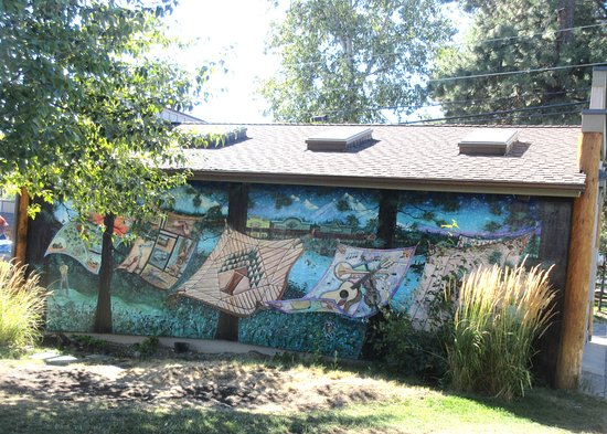 Mural, Barclay Park, City of Sisters, Sisters, Oregon