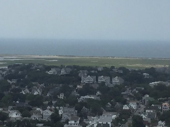 Pilgrim Monument & Provincetown Museum: Over the town