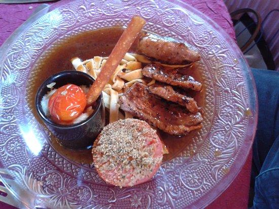 Auberge Du Bois St Jacques - mignon de porc au cidre Photo de Auberge du Bois Saint Jacques, Motteville TripAdvisor