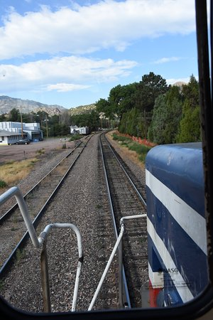 Royal Gorge Route Railroad: View from the cab
