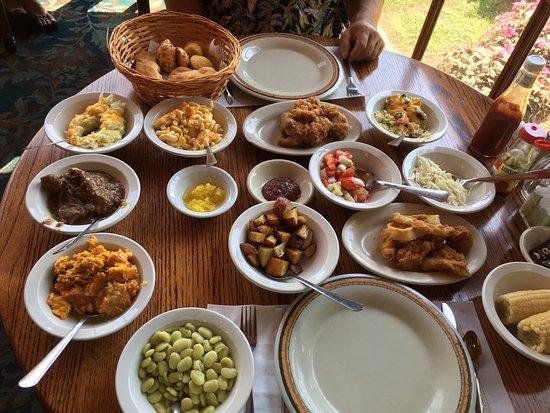 Dillard, GA: heaps of food!