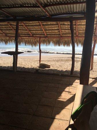 Pie de Gigante Spanish School: right on the beach