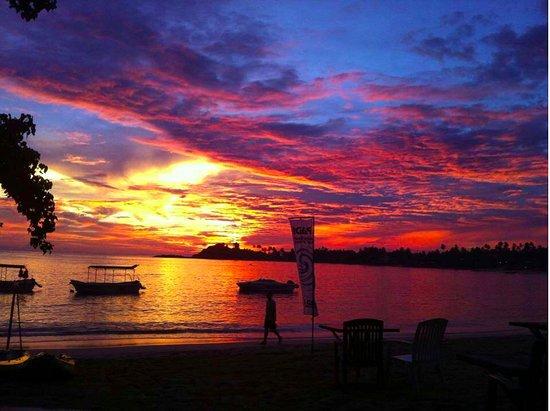 Riddim : its super sunset view!