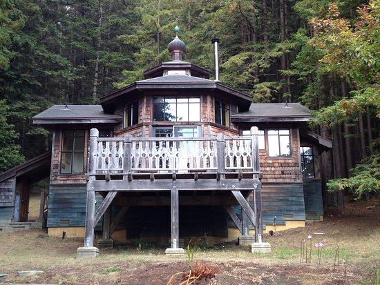 Gualala, แคลิฟอร์เนีย: The Black Chanterelle cottage.