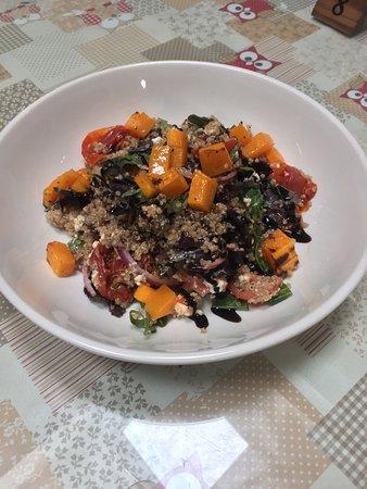 Birr, Ireland: Roasted Butternut Squash & Quinoa Salad