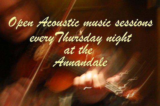 Annandale Arms Hotel: Thursday night acoustic music session at the Annandale Arms