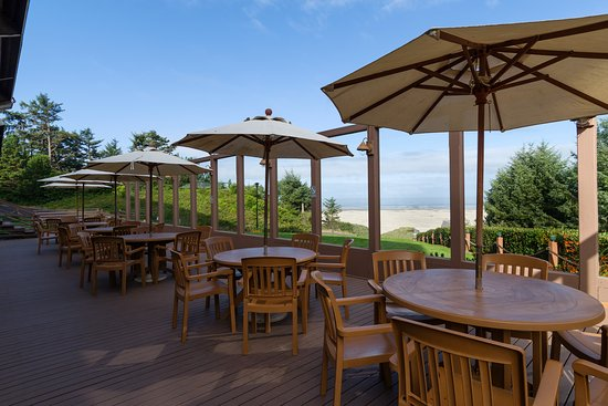 BEST WESTERN Agate Beach Inn: Outside Dining