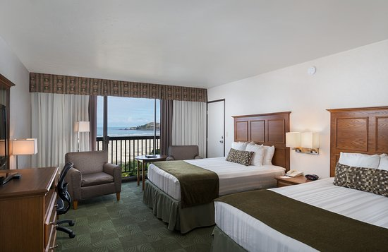 Best Western Agate Beach Inn : Double Queen Ocean View