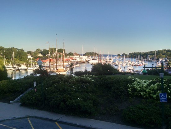 Camden, ME : View from the hill