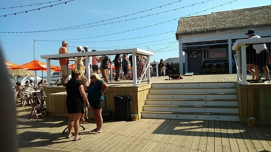 Bernie S Beach Bar Upper Dance Deck