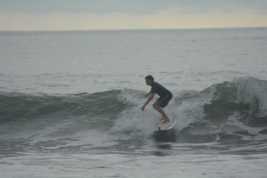 Dominical, Costa Rica: More good waves...this was the smallest of the three days we were there. Good for beginners to a