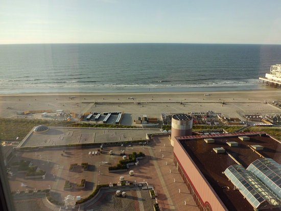 Bally's Atlantic City : View from Ballys Tower