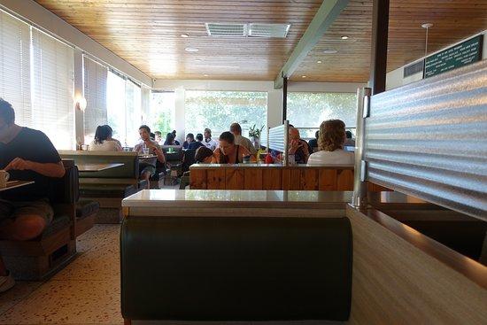 Phoenicia, estado de Nueva York: Yes, it's like a diner on the inside