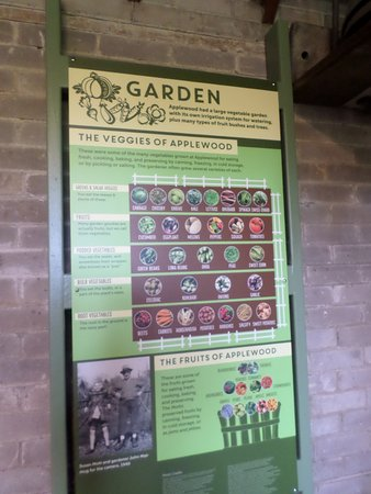 Flint, MI : vegetables growing in the garden sign