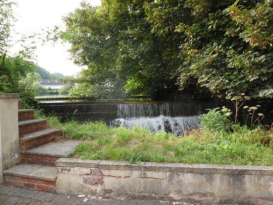 Cromford, UK: The Weir
