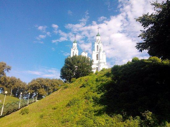 Polotsk, Bielorrusia: Собор святой Софии - 10 минут ходьбы от гостиницы