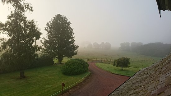 Leuchars, UK: Love the misty mornings at The Whitehouse. We have been going therefor many years.