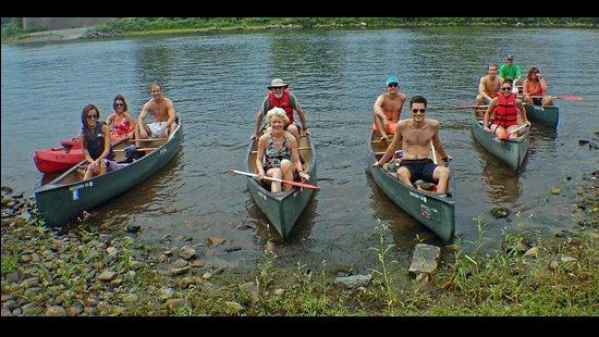 Phillipsburg, NJ: Our paddling crew