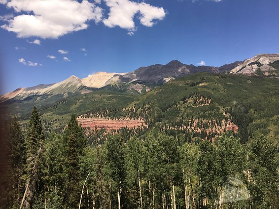 Telluride, CO : Looking up