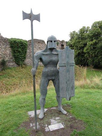 Helmsley Castle sculpture