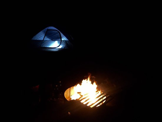 Tunnel Mountain Village 1 Campground : Night life for me :)