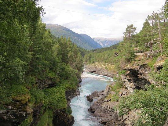 Bjorli, Norwegia: Каньон