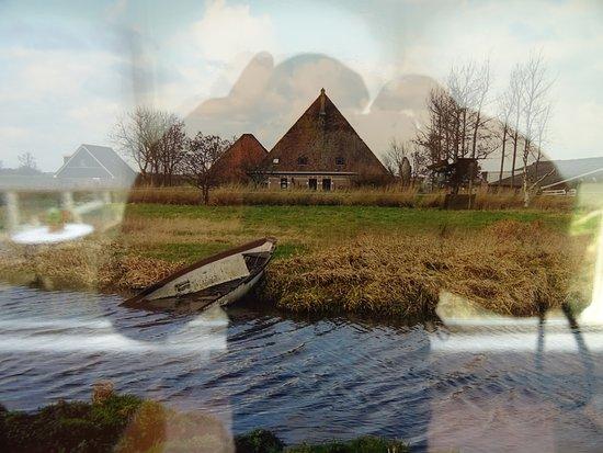 Holanda del Norte, Países Bajos: de Beemster in de winter