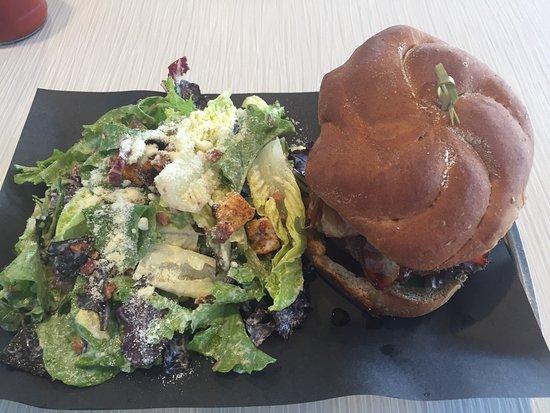 Best burgers at Olympus Burger in Port Hope!