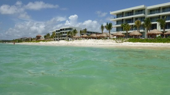 Breathless Riviera Cancun Resort Spa Beach From The Water
