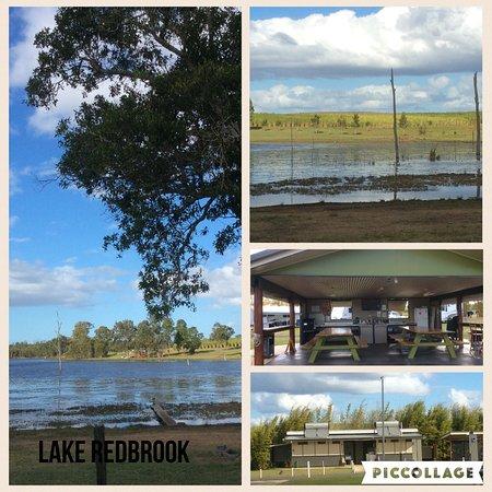 Childers, Australia: The lake camp kitchen & amentities