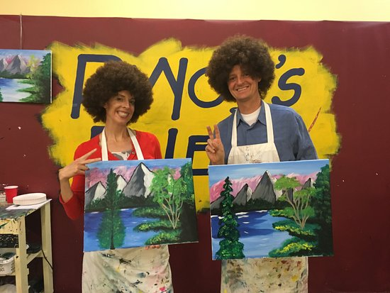 Pinot's Palette : Bob Ross eat your heart out