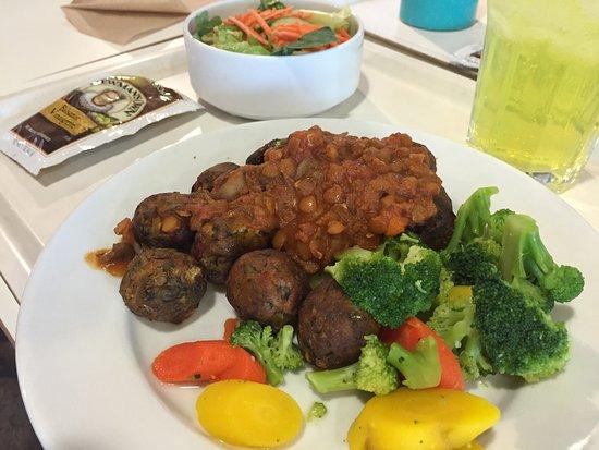 Vegan Veggie Balls Picture Of Ikea Restaurant Stoughton