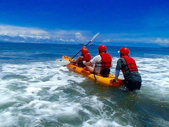 Uvita, Costa Rica: Bahia Ballena kayaks