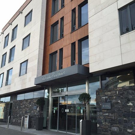 The Croke Park: hotel front