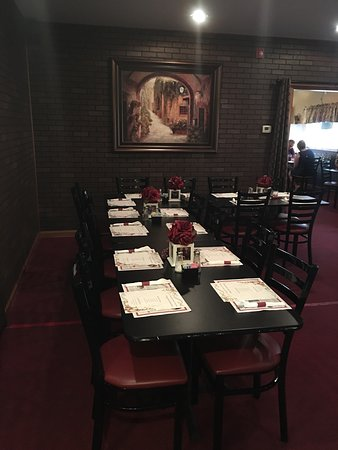 Kittanning, PA: Rehearsal dinner at Villa Rosa Italian restaurant