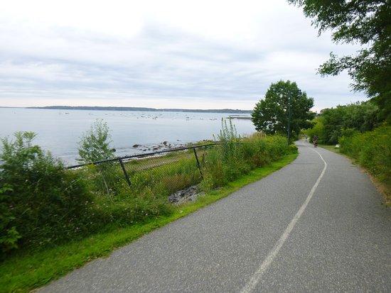 Back Cove Trail : Traill toward Promenade