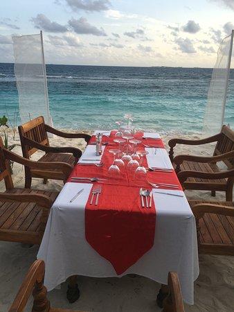 Bilde fra Raa-atollen