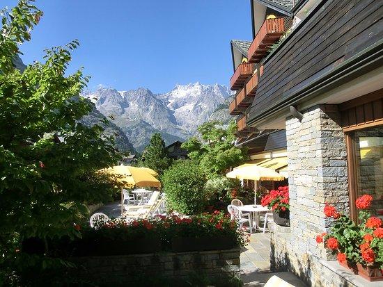Hotel Pavillon: Terrazza
