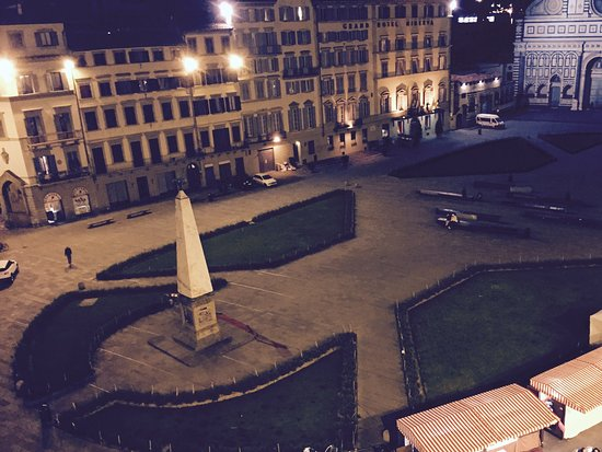 JK Place Firenze: View from room 21 of Piazza