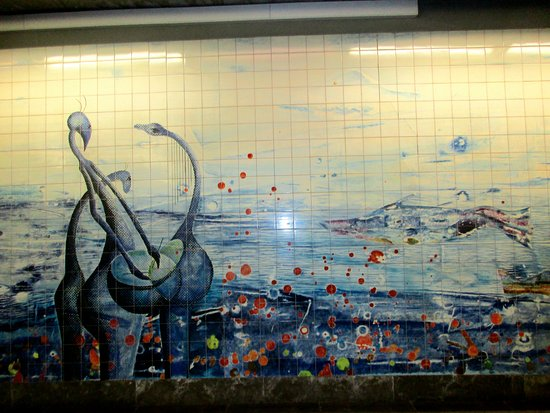 Ocean Travel Mural Picture Of Metropolitano De Lisboa Lisbon